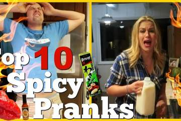 Husband Vs Wife Spicy Pranks Compilation 1