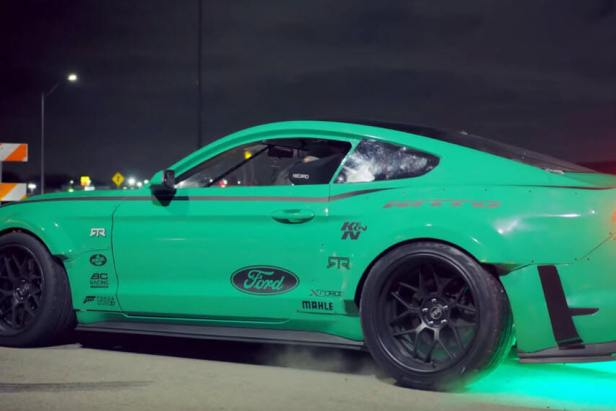 Vaughn Gittin Jr. Drifts Four Leaf Clover in 900HP Mustang 1