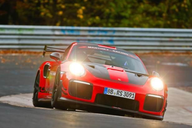 The Porsche 911 GT2 RS MR 1