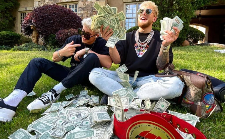 Jake Paul jumps on his brother's podcast to talk about generating $66 million from his latest boxing event against Ben Askren