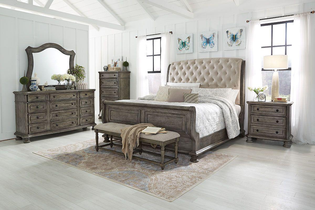 carden 5 piece queen bedroom set