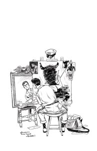 Postal #11, variant cover di Isaac Goodhart