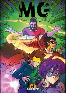 Maschera Gialla 3, copertina di Albo e Dado