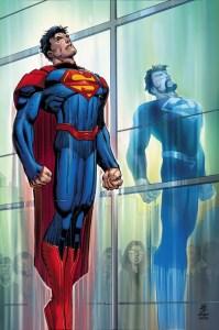 Superman #50, copertina originale di John Romita Jr.