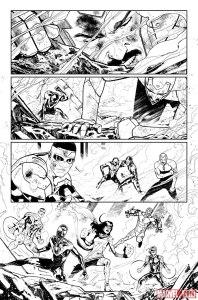 Civil War II #1, anteprima 01