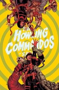Howling Commandos of S.H.I.E.L.D. #5, copertina di Brent Schoonover