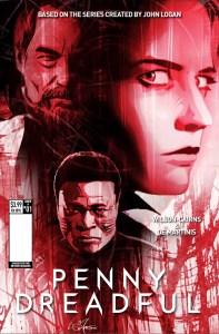 Penny Dreadful #1, copertina di Louie De Martinis