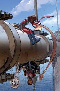 Spider-Man #3, copertina di Sara Pichelli