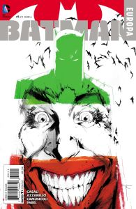 Batman: Europa #4, copertina di Joke