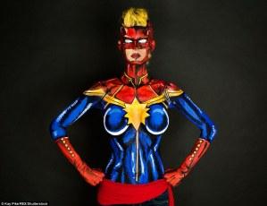 Capian Marvel versione Carol Danvers
