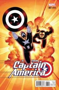 Sam Wilson, Captain America #7, variant cover di John Cassaday