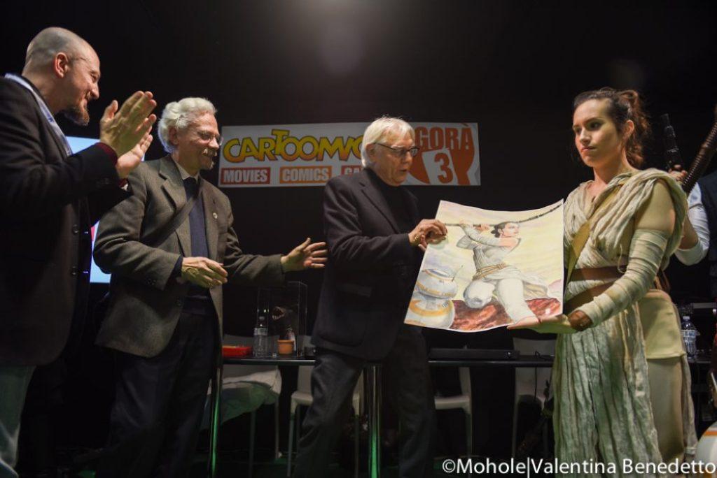 Milo Manara premiato a Cartoomics