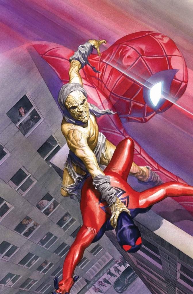 Amazing Spider-Man #21, copertina di Alex Ross