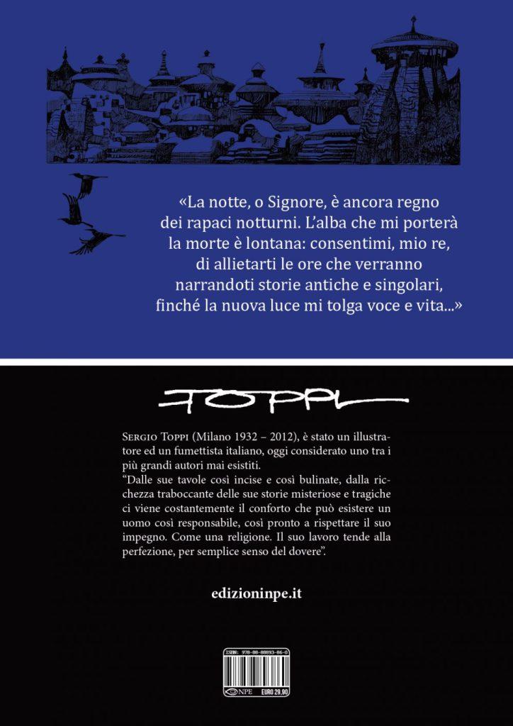Sharaz-de: Le Mille e una Notte, quarta di copertina