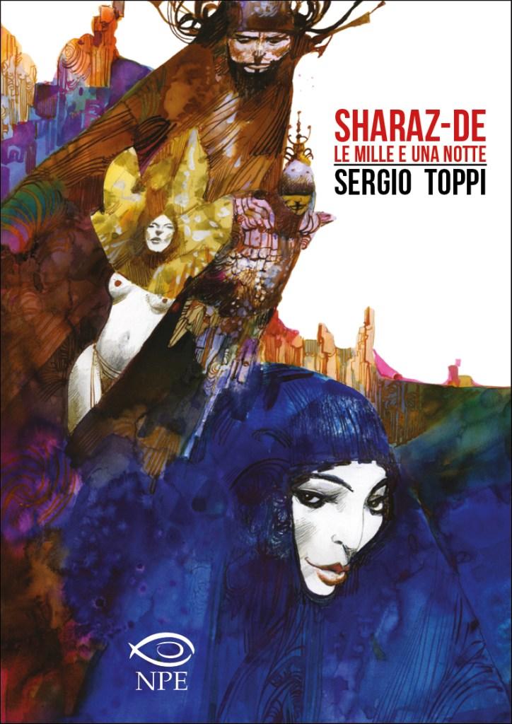 Sharaz-de: Le Mille e una Notte, copertina di Sergio Toppi