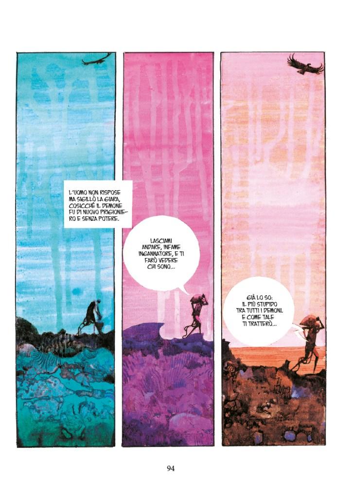 Sharaz-de: Le Mille e una Notte, pag. 94, disegni di Sergio Toppi