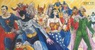 Alex Ross mostra come disegnava gli eroi DC Comics da bambino