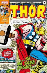 Super Eroi Classic 3, copertina di Jack Kirby
