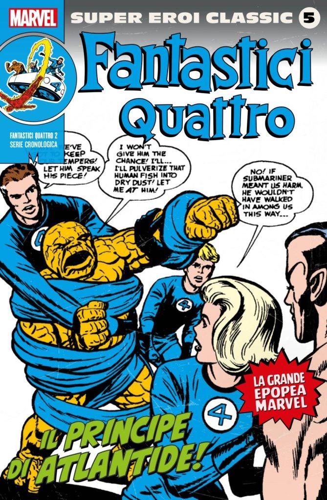 Super Eroi Classic 5, copertina di Jack Kirby