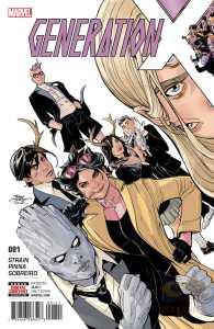 Generation X #1, copertina di Terry Dodson