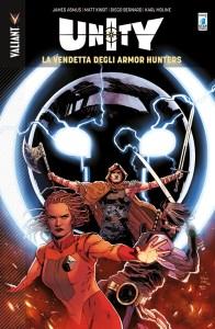 Unity vol. 7: La Vendetta degli Armor Hunters. copertina di Kano
