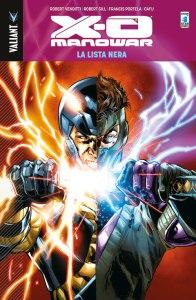 X-O Manowar vol. 11: La Lista Nera, copertina di Phil Jimez e Ulises Arreola