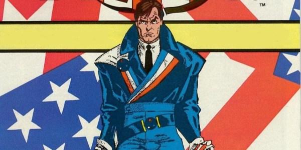 American Flagg! #1, copertina di Howard Chaykin