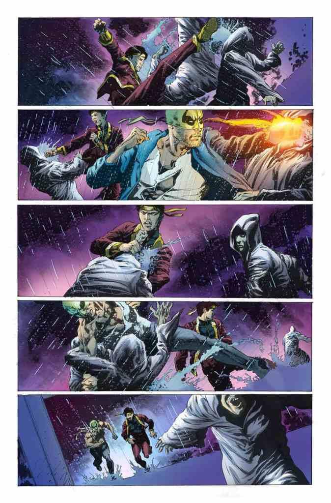 Iron Fist #6, anteprima 02
