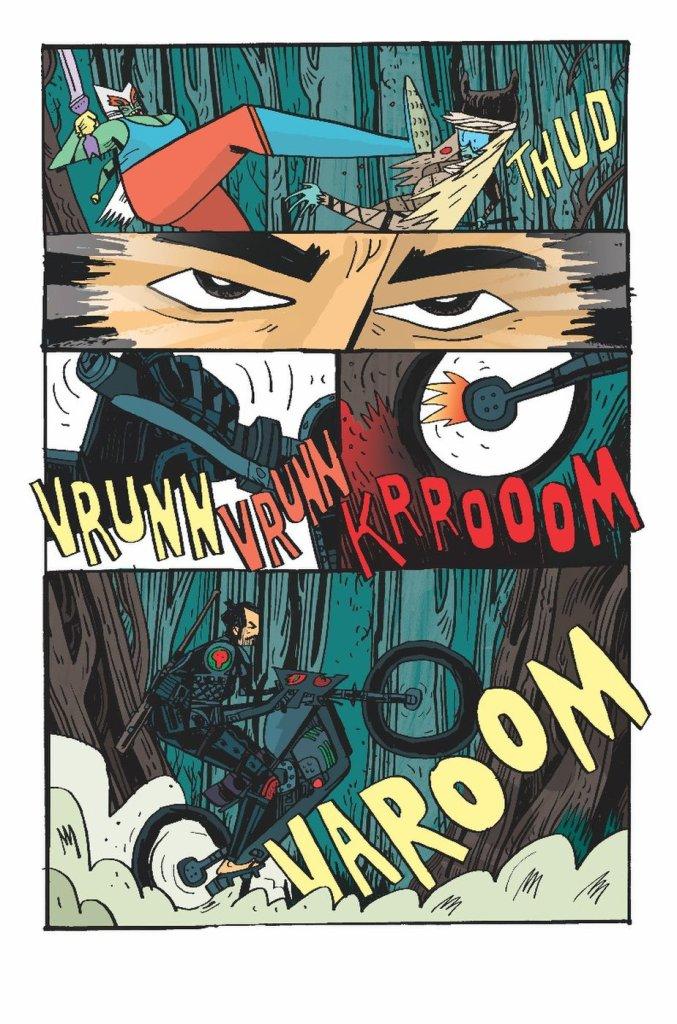 Samurai Jack: Quantum Jack #1, anteprima 01