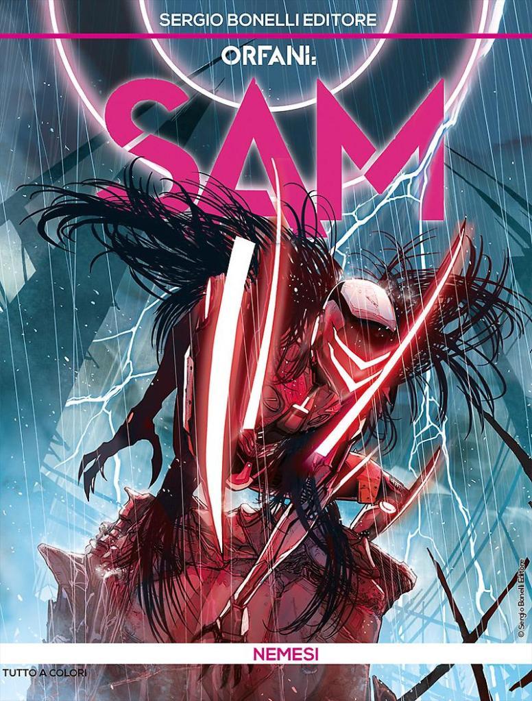 Orfani - Sam 1: Nemesi, copertina di Carmine Di Giandomenico