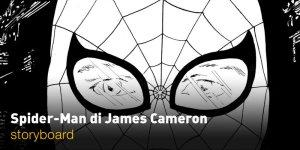 Spider-Man: il film di James Cameron mai realizzato prende vita negli storyboard di Daniele Tomasi