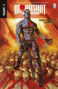 Bloodshot Reborn vol. 6: Dopo il disastro e altre storie, copertina di Renato Guedes