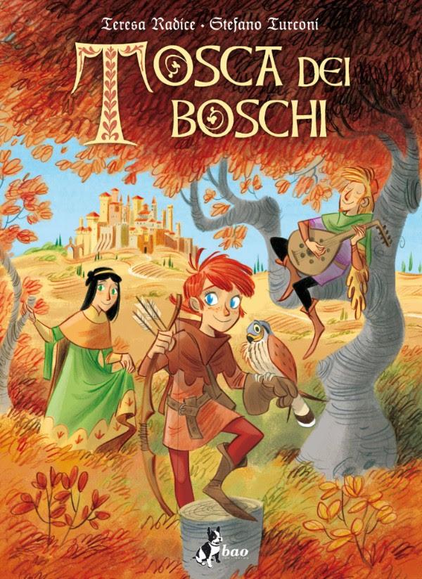 Tosca dei boschi, copertina di Stefano Turconi
