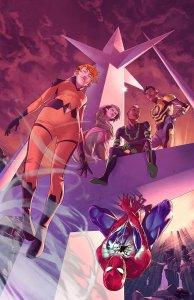 All-New Inhumans #5, copertina di Jamal Campbell