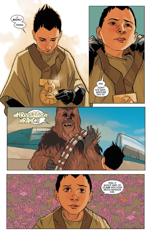 Chewbacca #5, anteprima 1