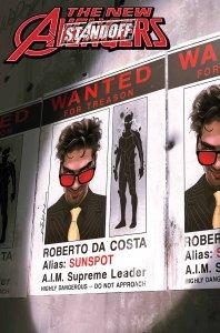 New Avengers #8, copertina di Jeff Dekal