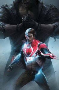 Spider-Man 2099 #8, copertina di Francesco Mattina