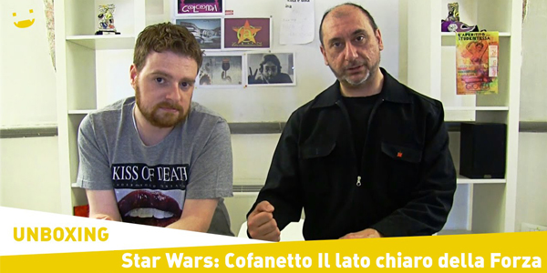unboxing star wars cofanetto