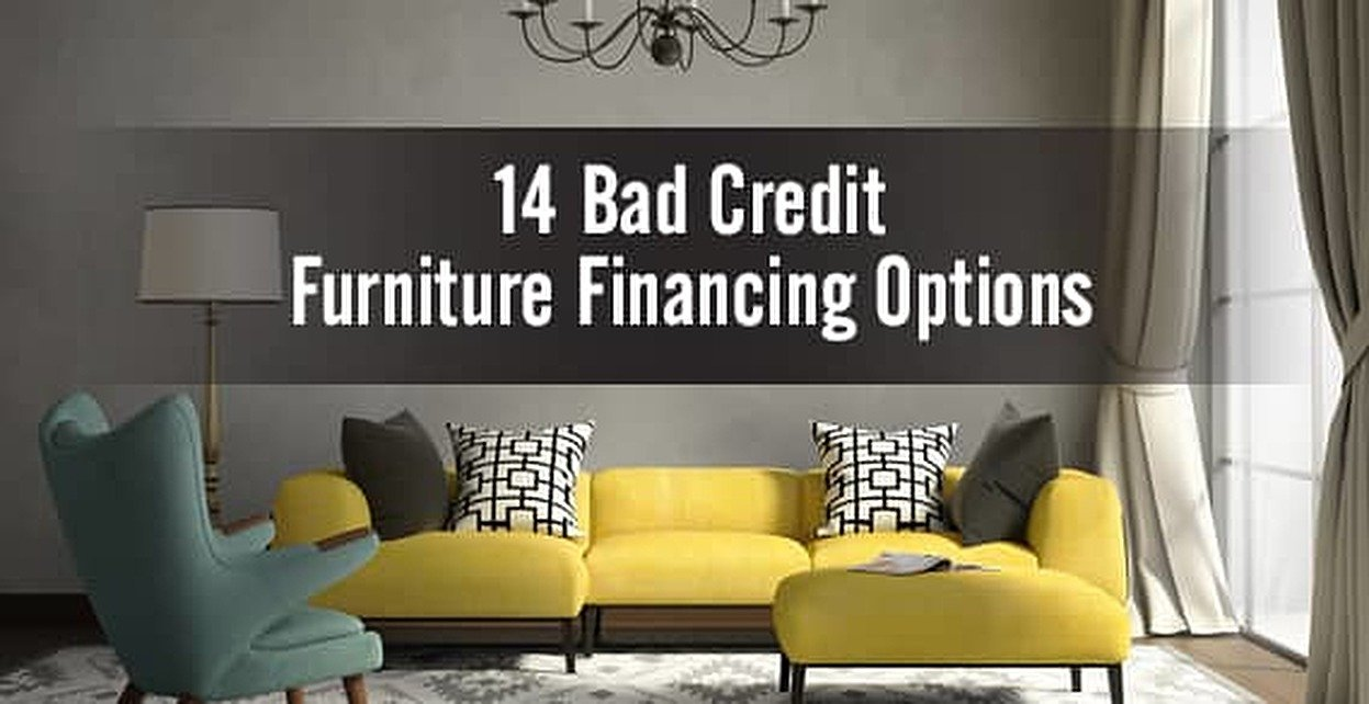 Bad Credit Furniture Financing Top 14 Options Badcredit Org