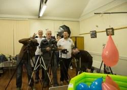 Balloon paparazzi