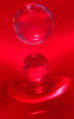 red splash close