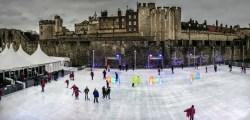 Tower ice skating R Huckett