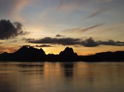 Sunrise. Pam