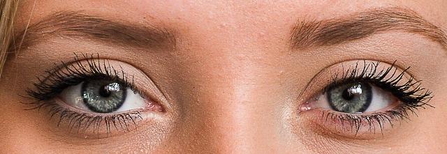 made up eyes -fran