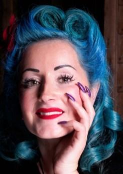Blue Hair, Simon Darney, 2017