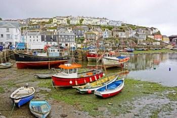 David Bailes Mevagissey Harbour