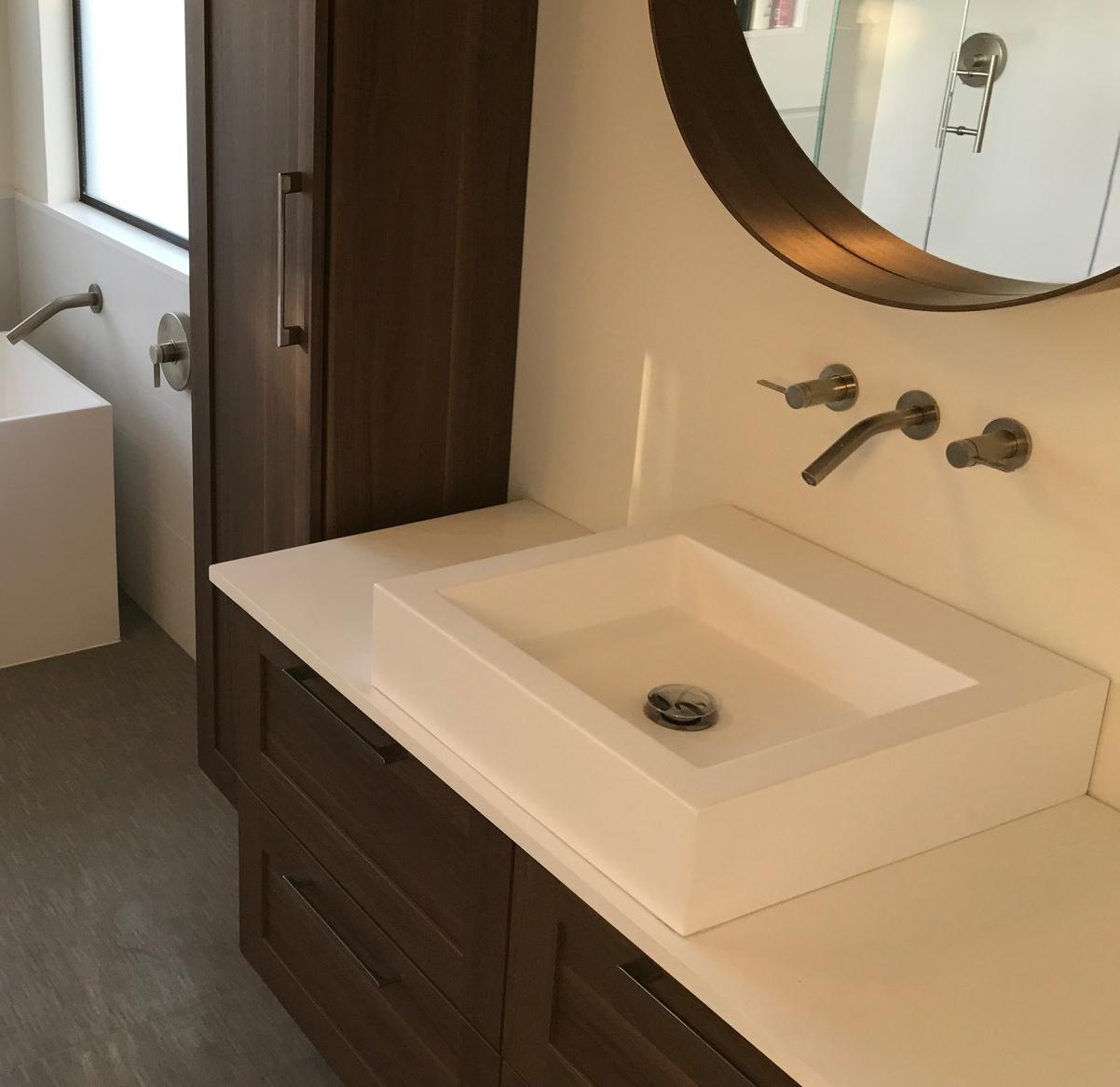 Small Countertop Sink Model WB 05 M Badeloft USA