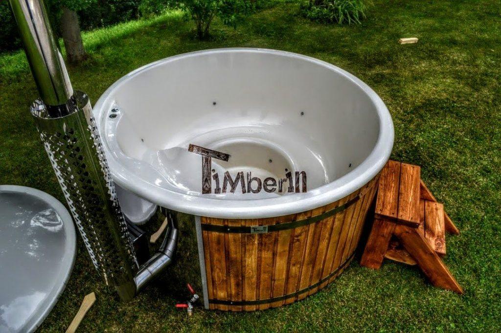 badestamp med bobler