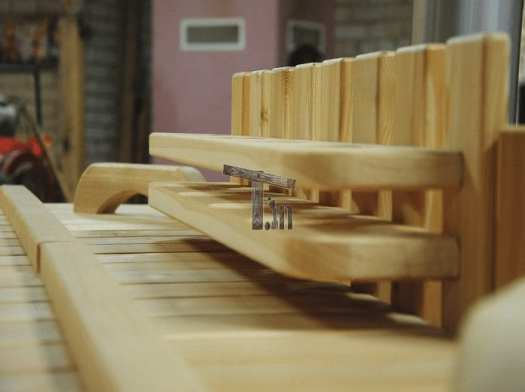 Badezuber Holz Minibar 2