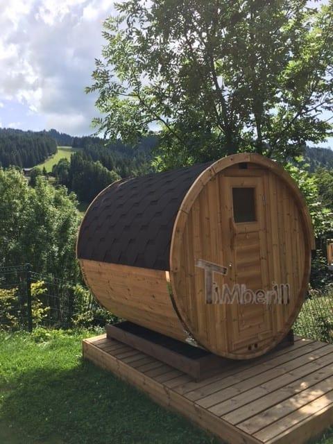 Sauna Extérieur Tonneau, Xose, LES GETS, France (2)